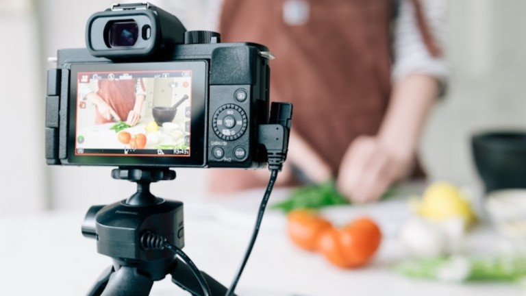 Panasonic LUMIX G100 Mirrorless Vlogging Camera delivers video and audio for content creators