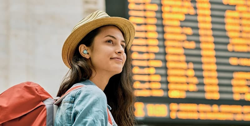 Panasonic RZ-S300W Compact Bluetooth Earphones