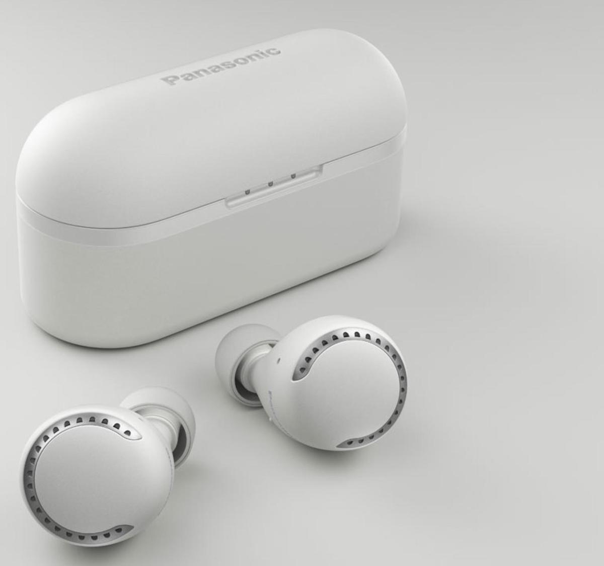 Panasonic RZ-S500W Wireless Bluetooth Earphones offer dual hybrid noise cancelling