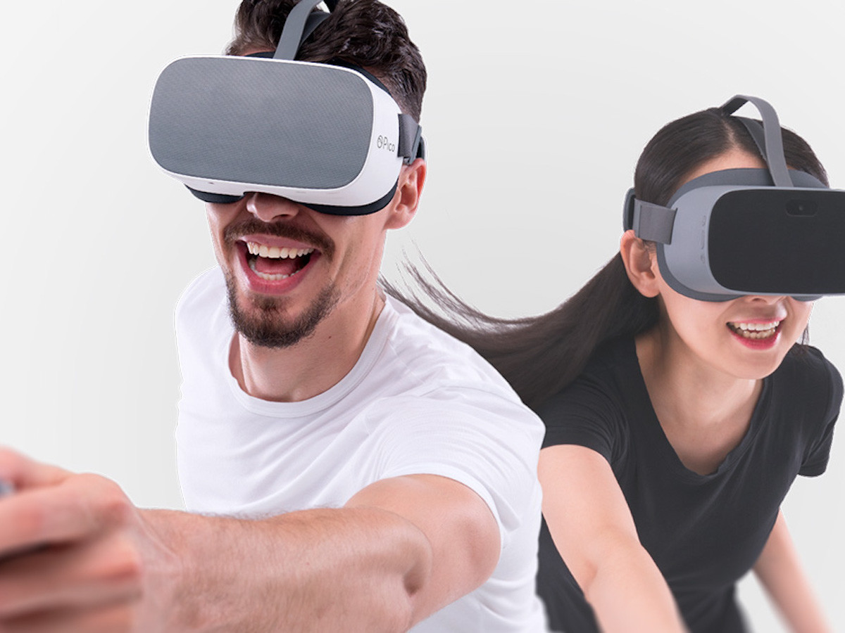 Pico G2 Lightweight 3K VR Headset has blue ray reduction for optimal viewing