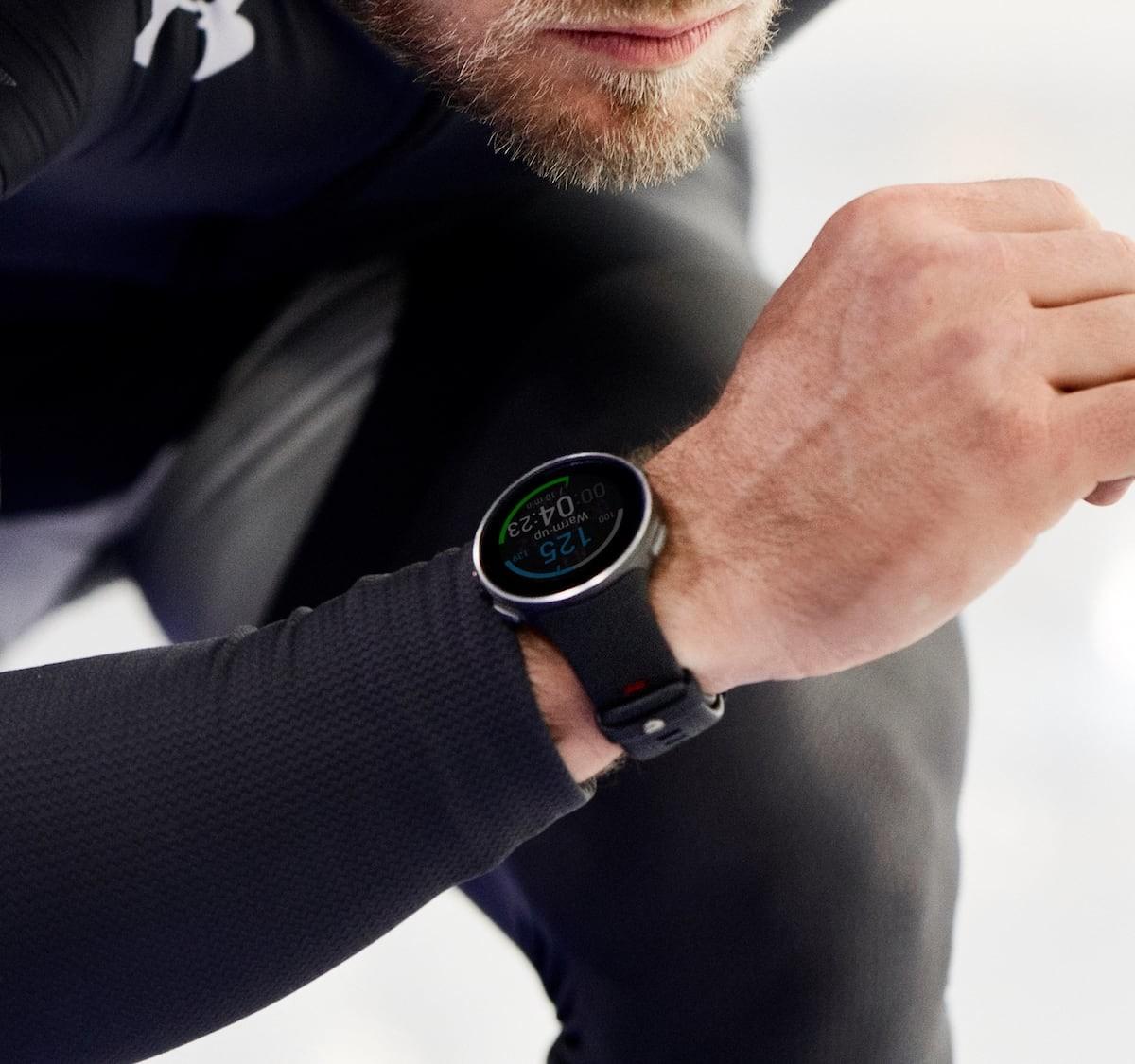 Polar Vantage V Titan multisport watch features extensive training features