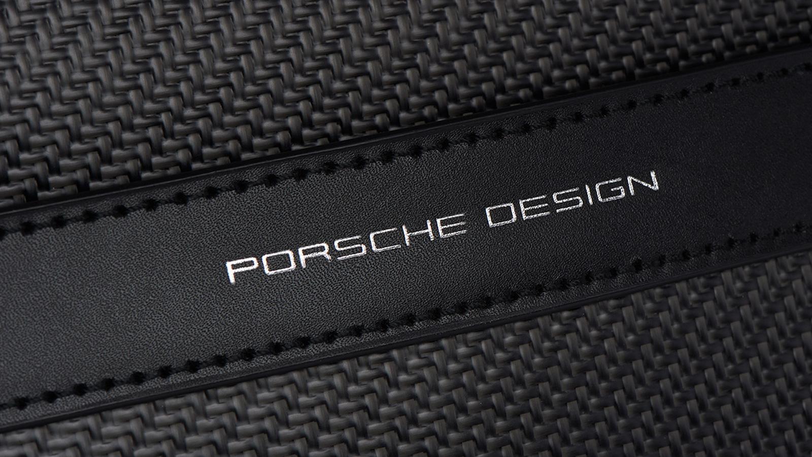 Porsche Design Carbon Briefbag MHZ durable luggage stores your laptop safely