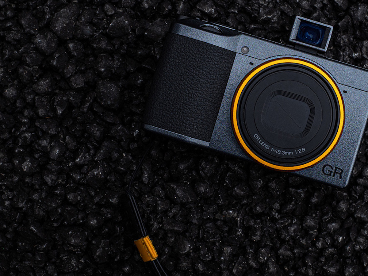 Ricoh GR III Street Edition street camera focuses on a specified distance for shots