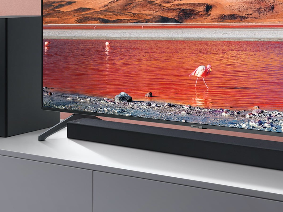 Samsung T450 Dolby Audio Soundbar easily connects over Bluetooth