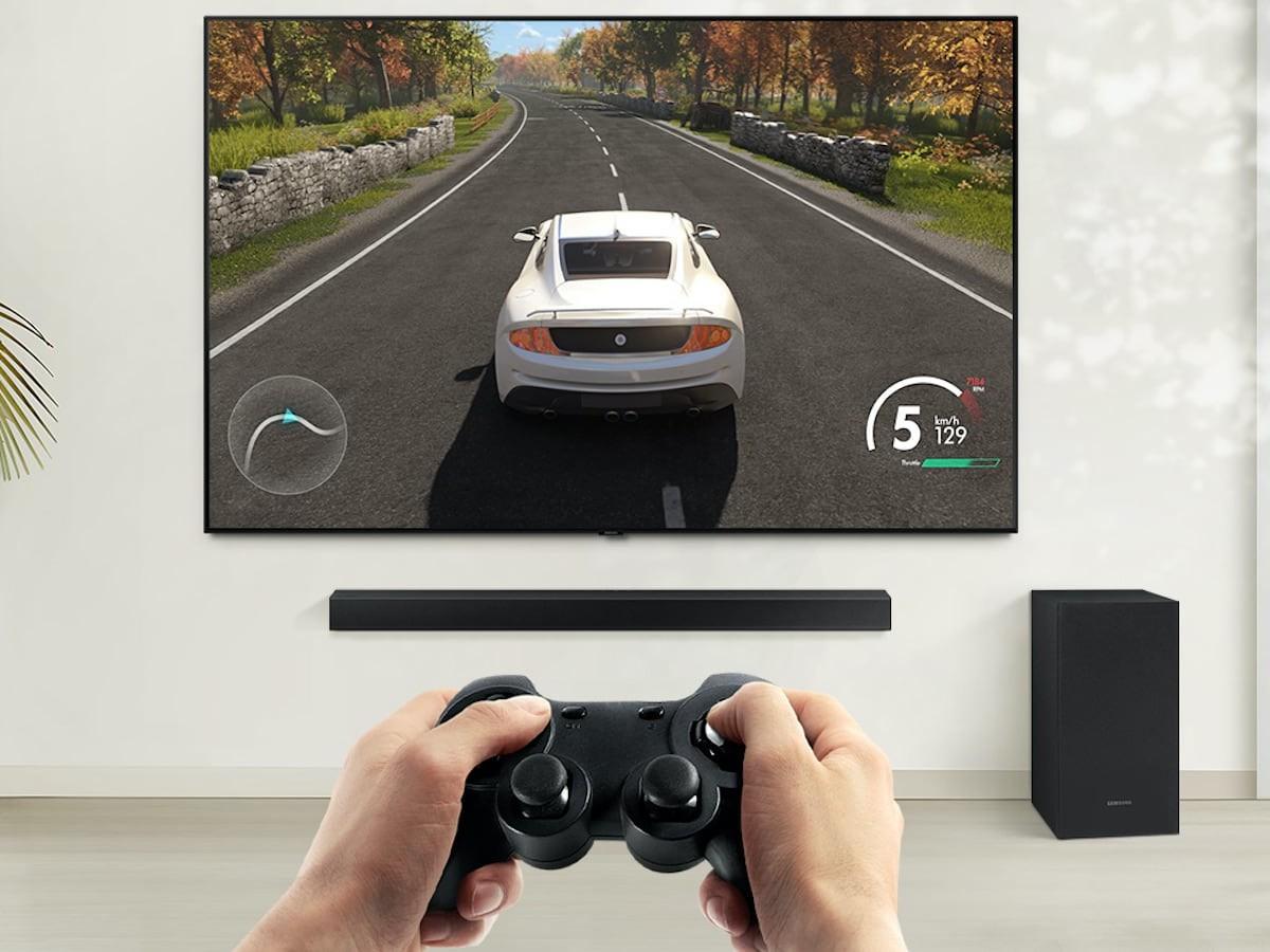 Samsung T650 3.1-Channel Soundbar produces 3D surround sound