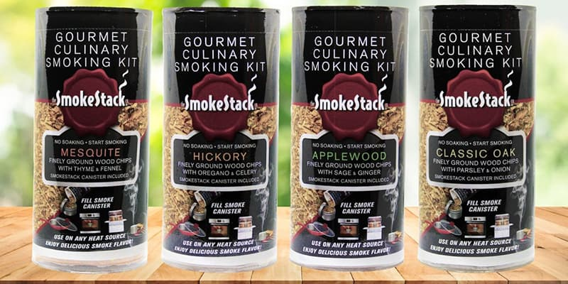 SmokeStack Gourmet Seasoned Wood Chips