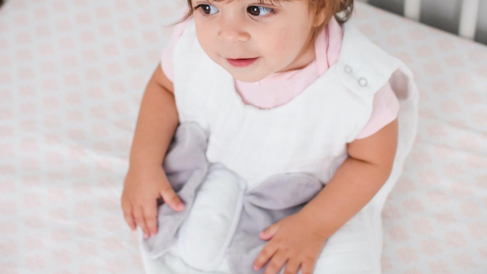 Snuggy Buddy Baby Wearable Lovey Blanket