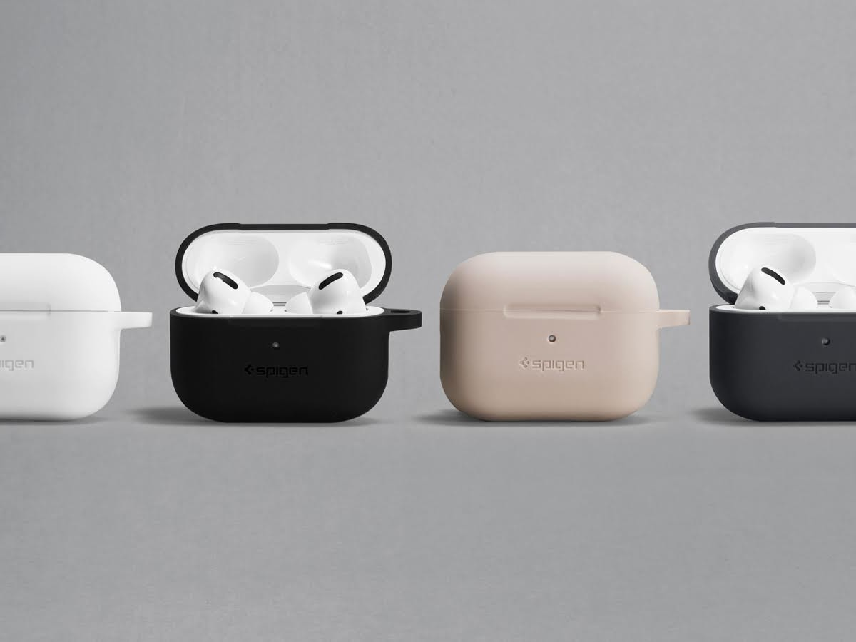 Spigen Silicone Fit Apple AirPods Pro Protective Case provides everyday coverage