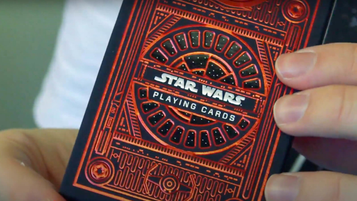 theory11 Star Wars Playing Cards Dark and Light Side Decks use paper from sustainable forests