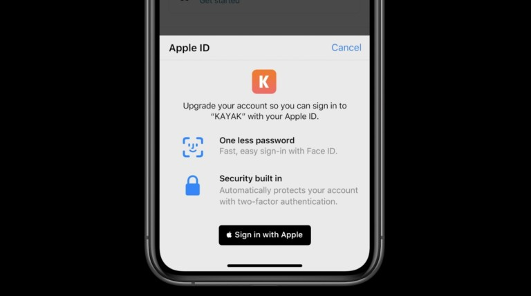 Sign-In with Apple feature