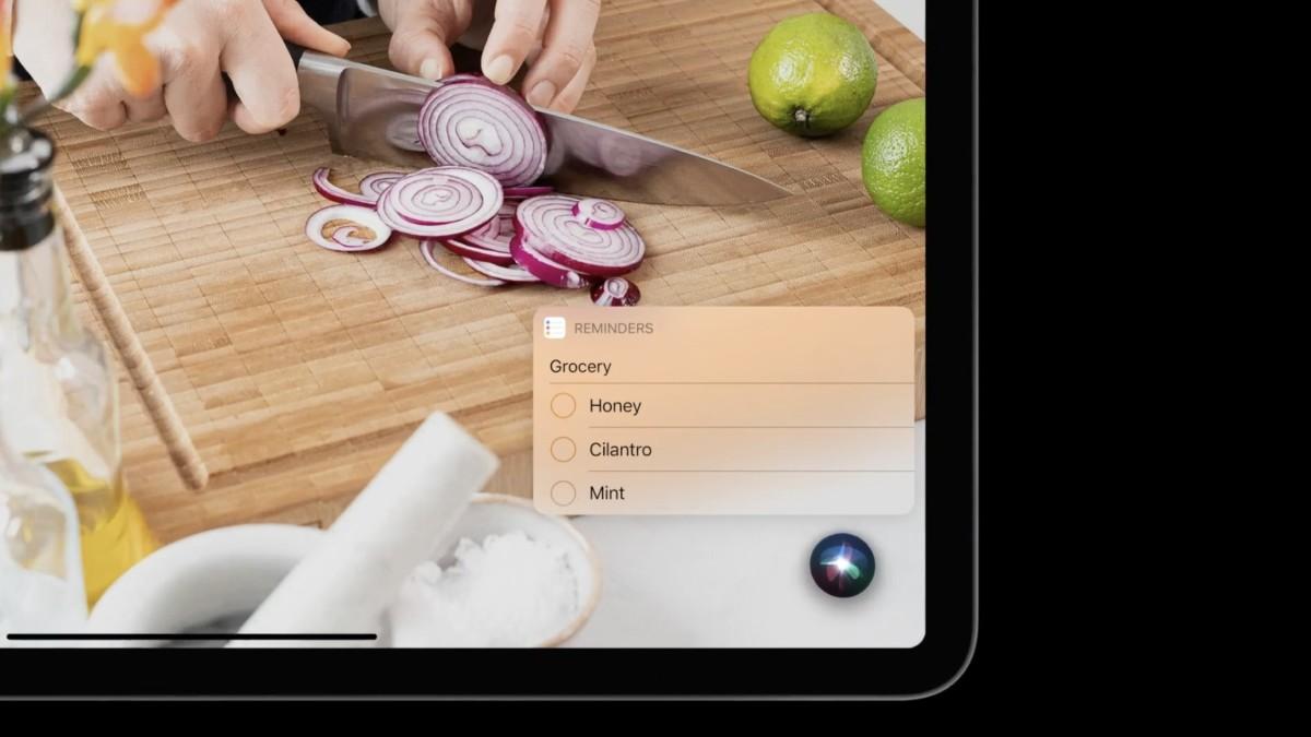 Siri on iPadOS 14