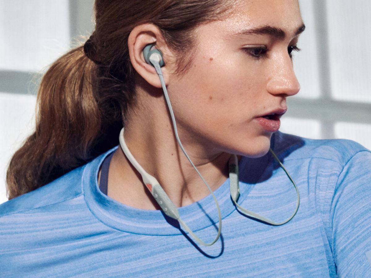 adidas RPD-01 Sports Headphones have an ergonomic design for comfort