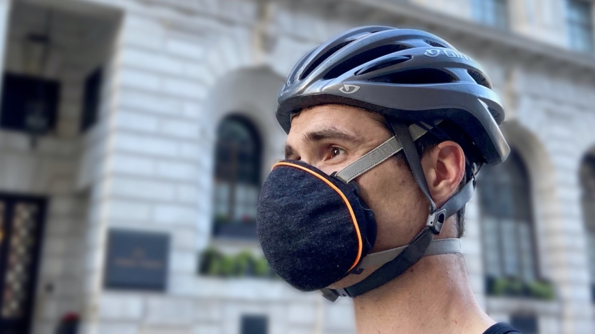 Airhead Mask Reinvented Pollution Protector exceeds N99 standards