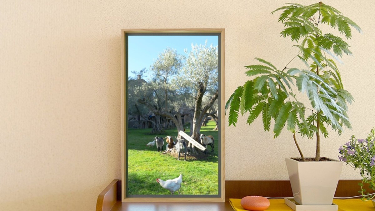 Atmoph Window 2 Smart Wall Scenery Display lets you choose from 1,000 beautiful visuals
