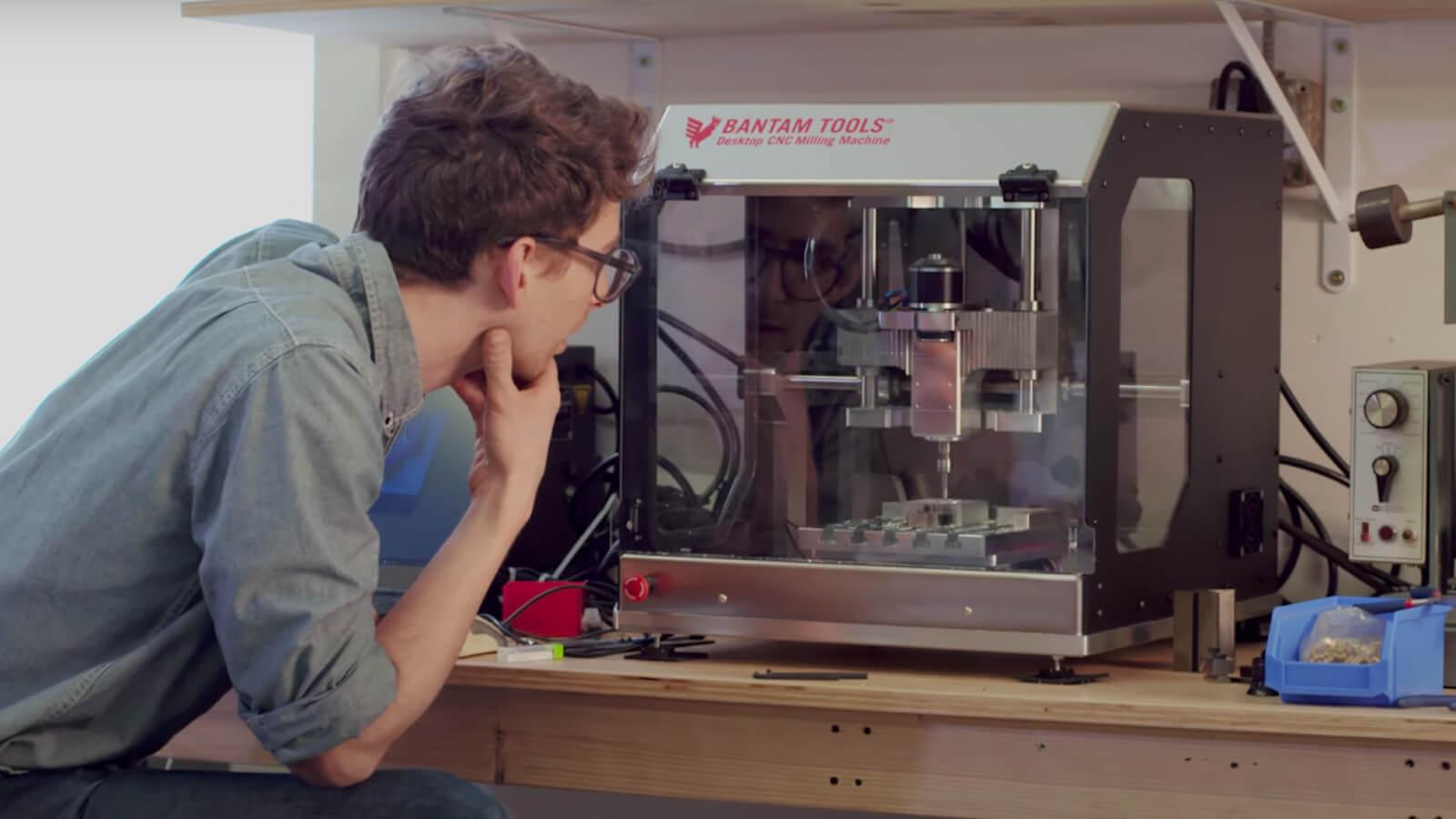 Bantam Tools Desktop CNC Milling Machine Prototyping System