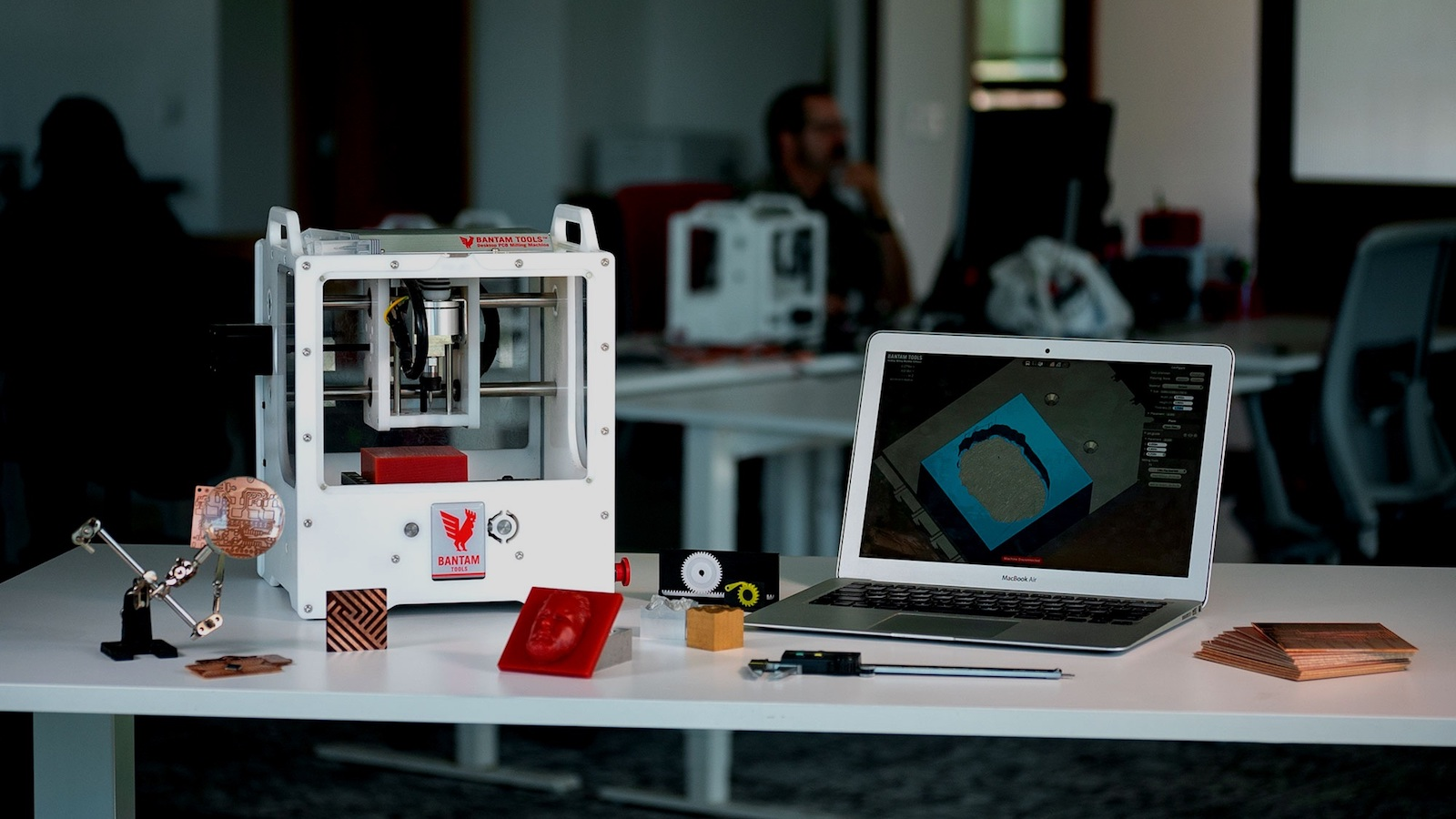 This CNC Milling Machine prototyping system brings aluminum creation in-house