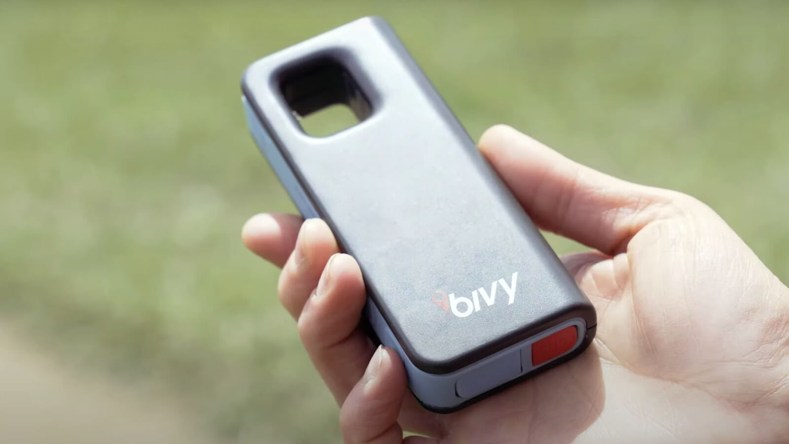 Bivy Stick Blue Satellite Communicator Device sends your location easily