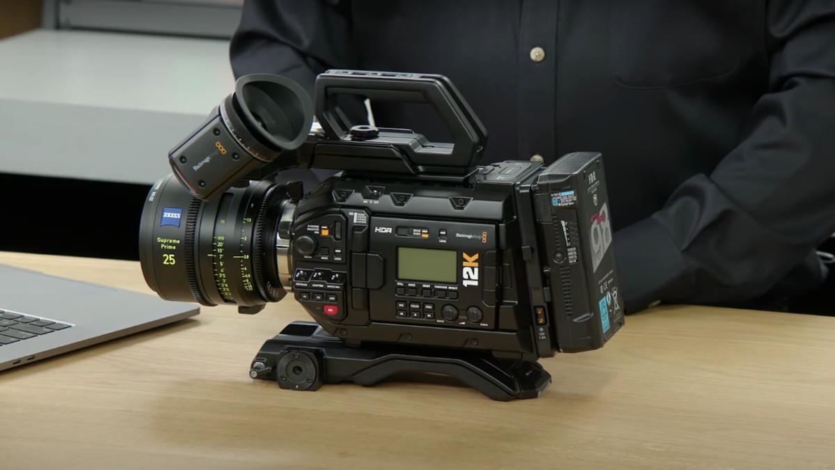 Blackmagic Design URSA Mini Pro 12K Digital Film Camera uses advanced image technology