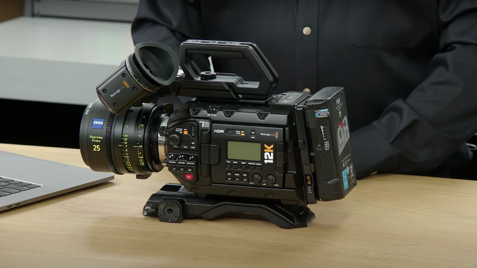 Blackmagic Design URSA Mini Pro 12K Digital Film Camera uses advanced image technology