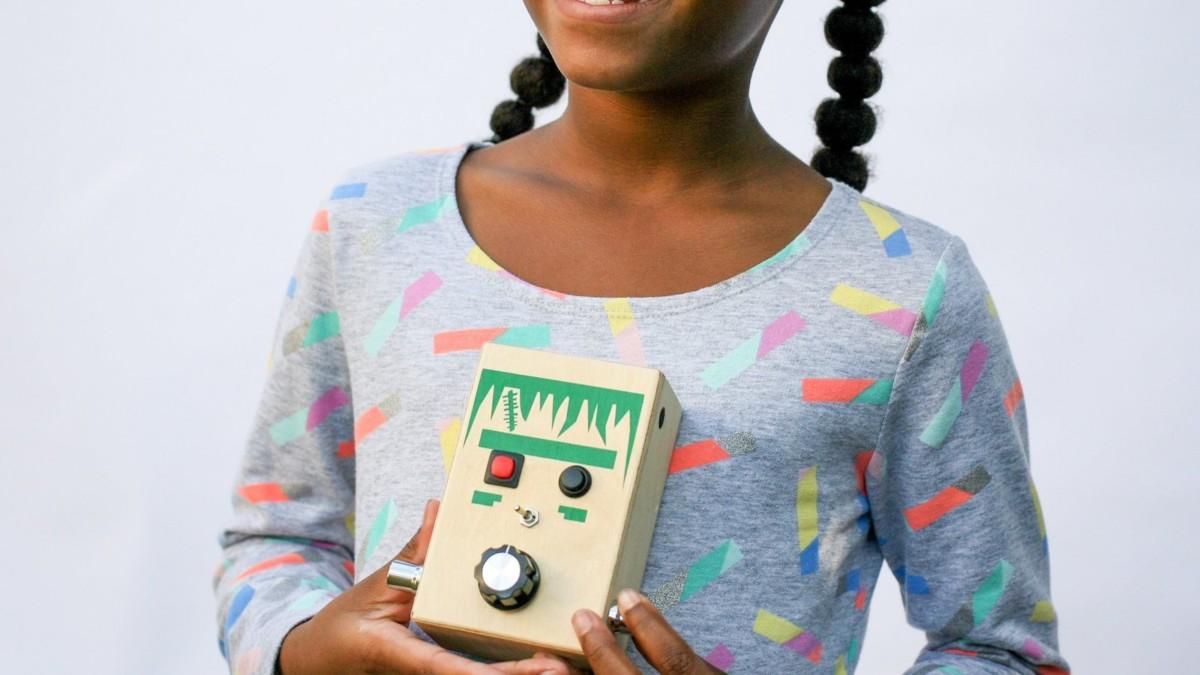 BrandNewNoise Frankie Kid's Voice Recorder provides hours of fun for inspiring musicians