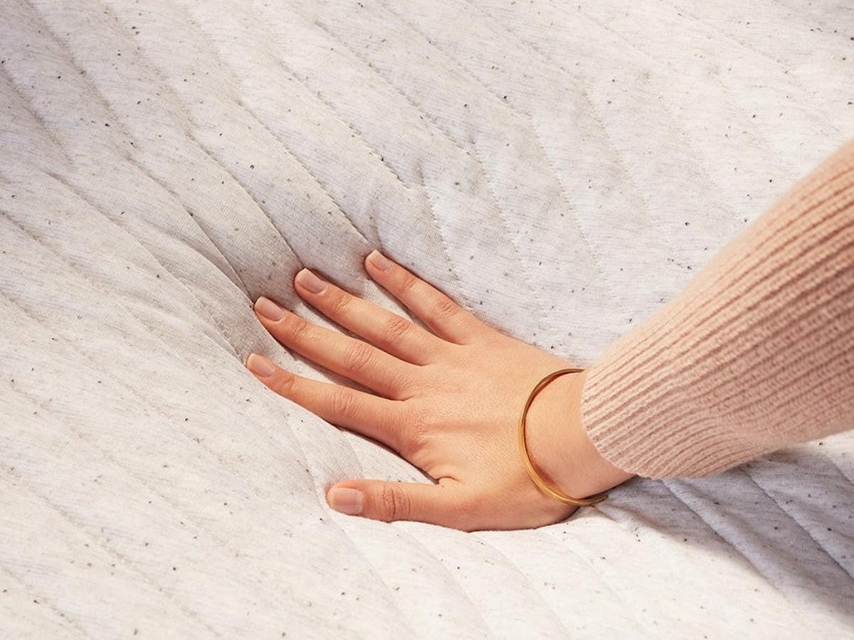 Casper Nova Hybrid Cushioned Mattress supports your body as you sleep