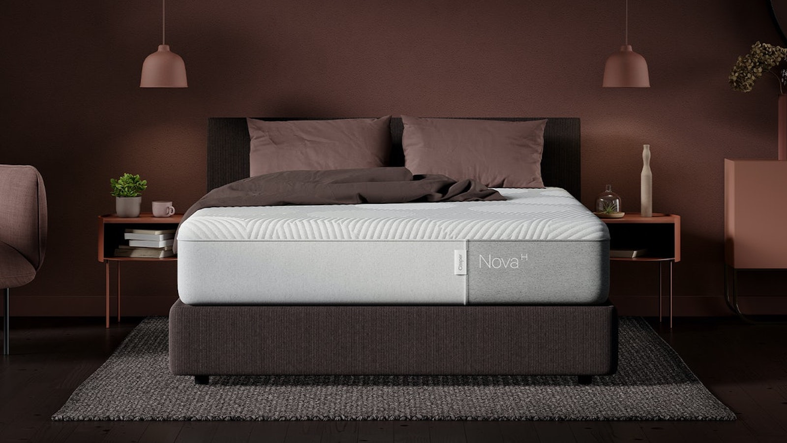 Casper Nova Hybrid Cushioned Mattress supports your body as you sleep