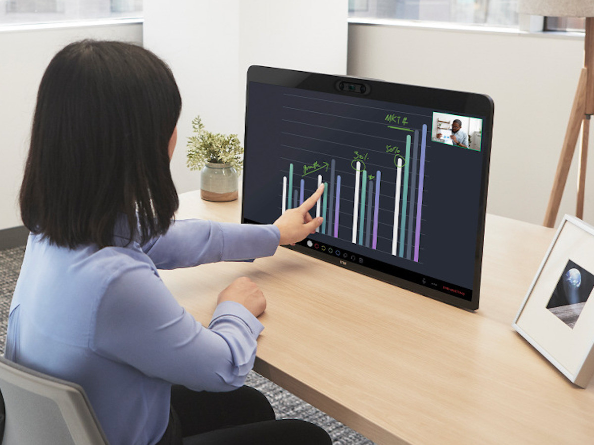 DTEN Zoom for Home Remote Office Device removes distractions from your workspace