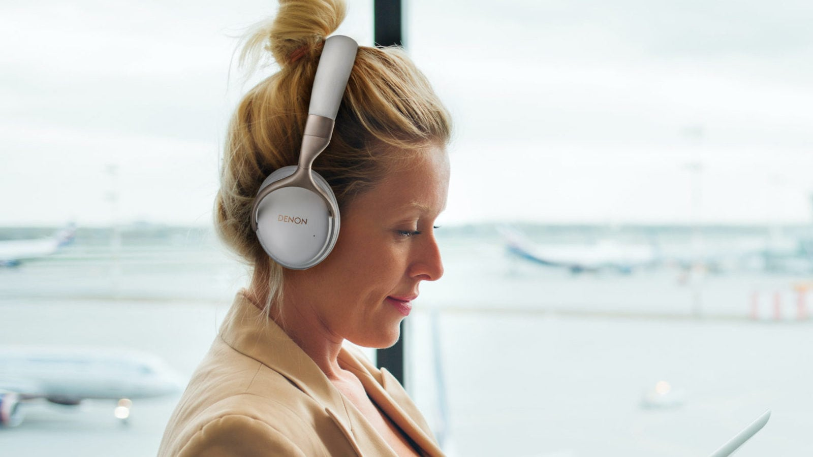 Denon AH-GC30 Noise-Canceling Headphones have FreeEdge drivers for great audio