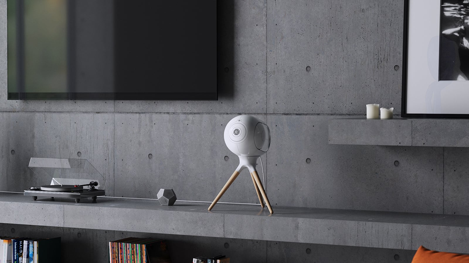 Devialet Classic Phantom 2,000-Watt Speaker delivers gorgeous high-fidelity sound