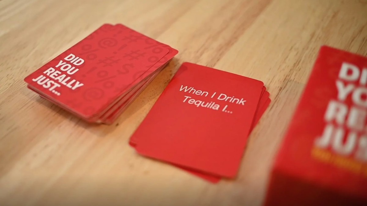 Did You Really Just… Spontaneous Adult Party Game ensures you and friends have a great time