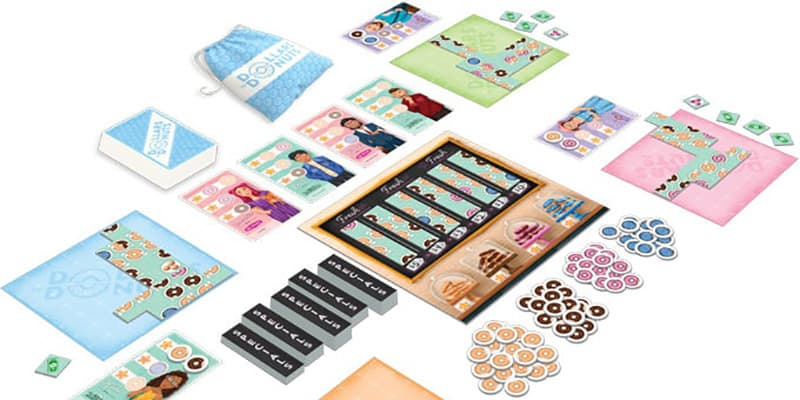 Dollars to Donuts Tile Layering Game