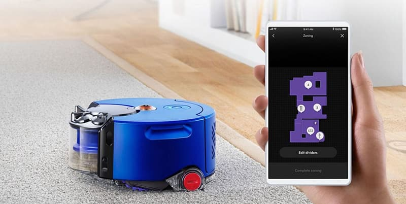 Dyson 360 Heurist Powerful Suction Robot