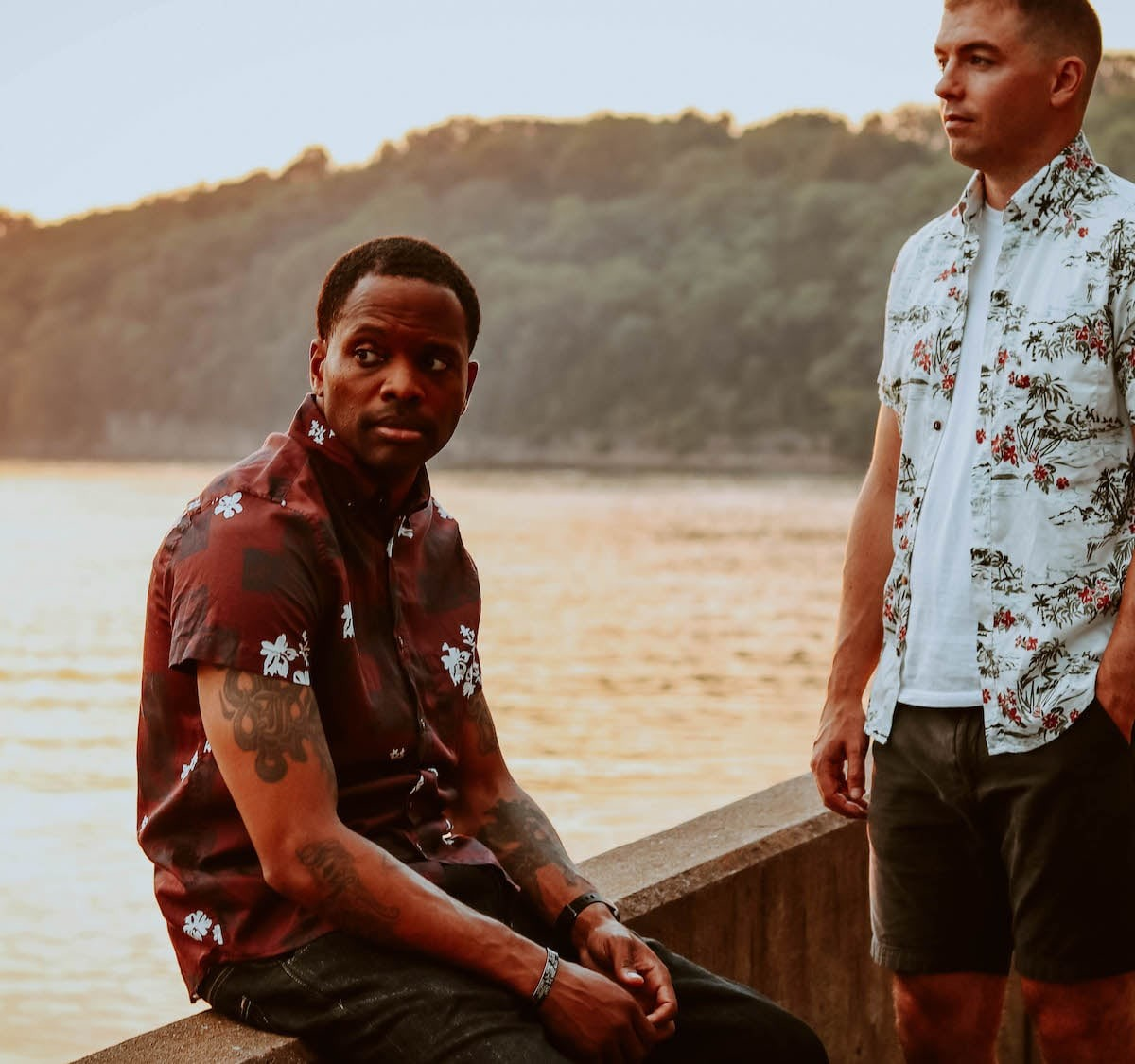 Easy Company Outfitters Hawaiian Collection WWII-Inspired Shirts offer vintage prints