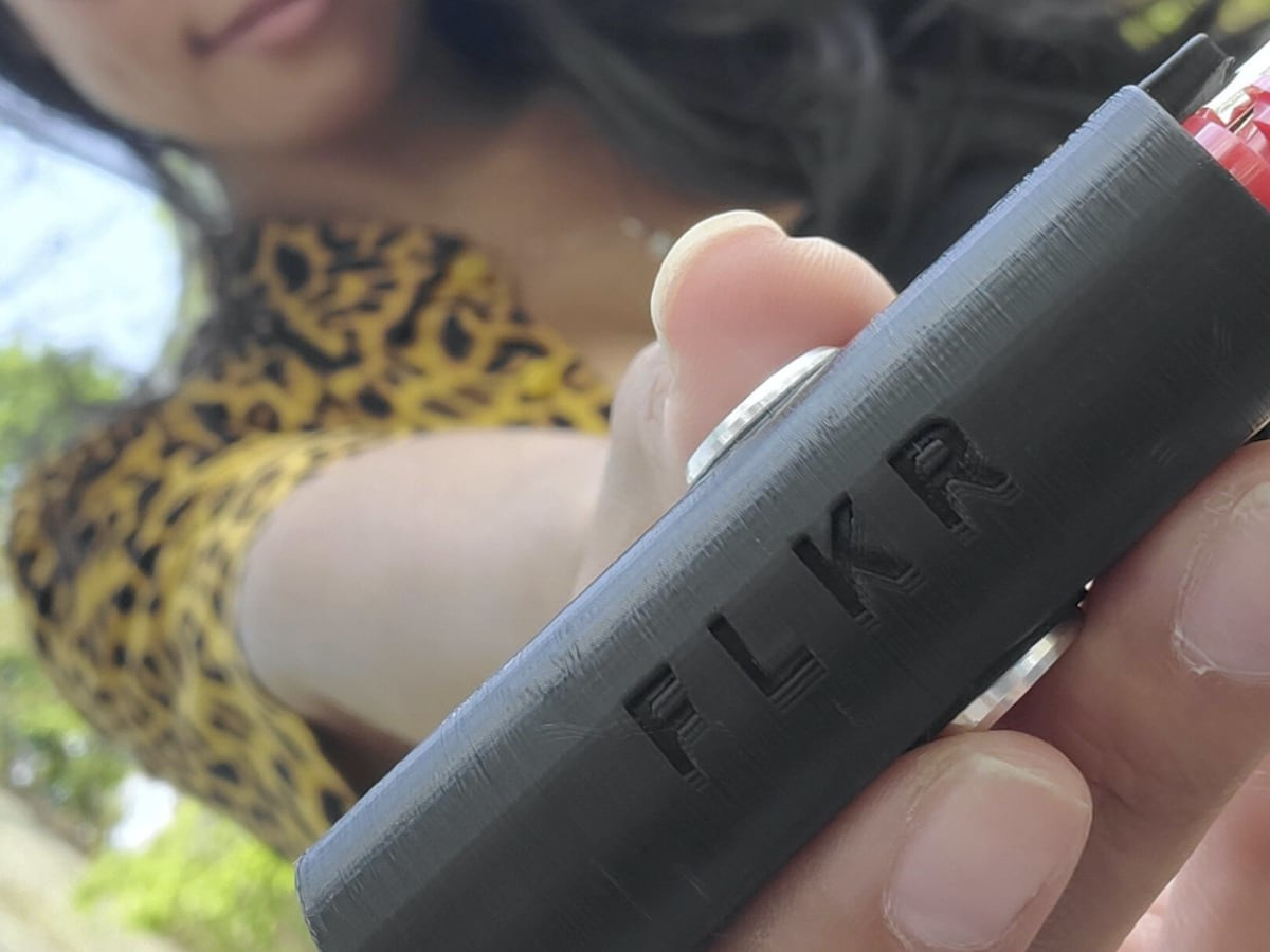 FLKR LYTR Innovative Lighter Case doubles as a fidget spinner