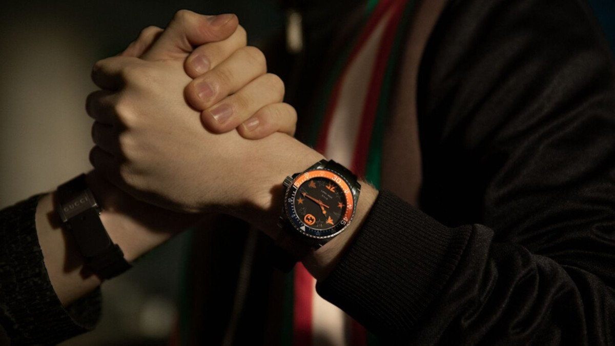 Fnatic x Gucci Dive Limited Edition Watch is here for the esports players out there