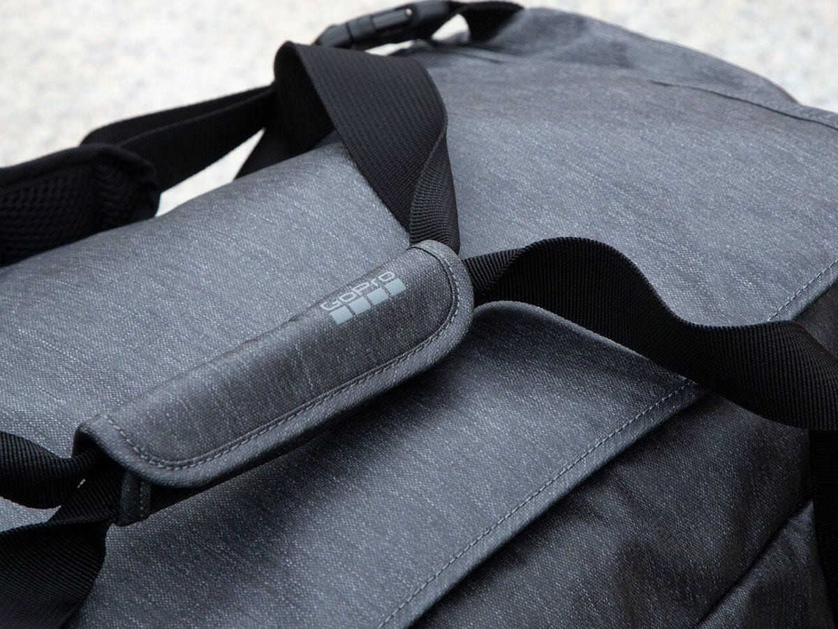 GoPro Mission Backpack Duffel Bag 2-in-1 Backpack carries whatever you need to take