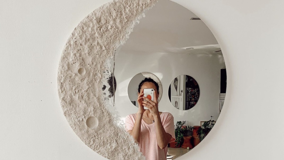 This HER unique mirror updates your home's decor instantly