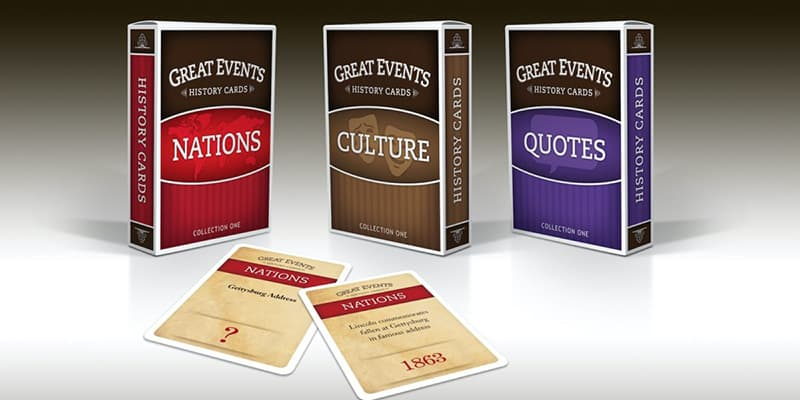 Great Events Historical Card Games