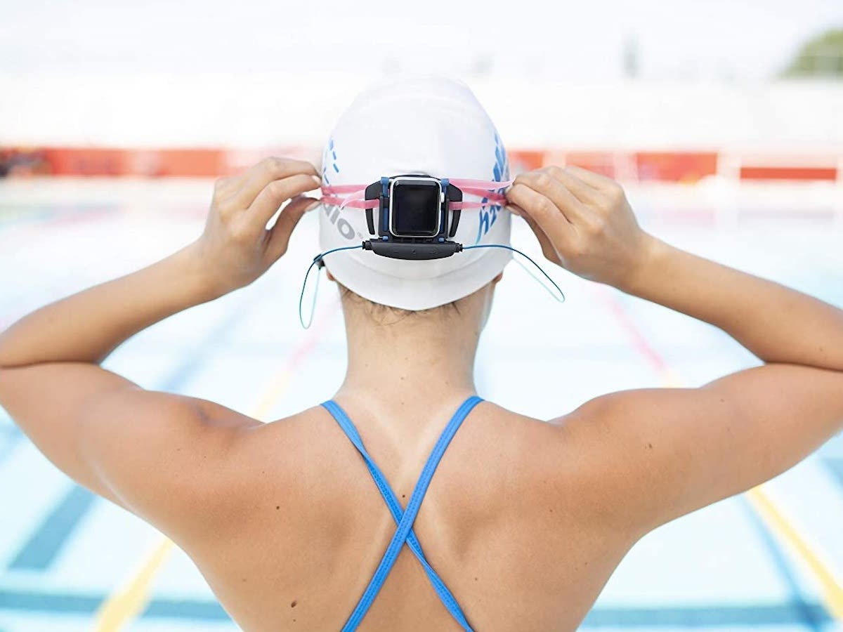 H2O Audio Interval Underwater Apple Watch Earbuds are a great addition for swimmers