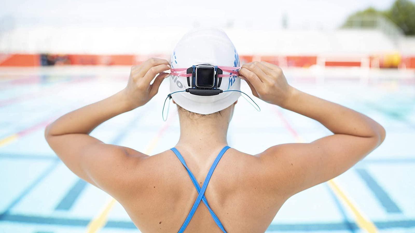 H2O Audio Interval Underwater Apple Watch Earbuds