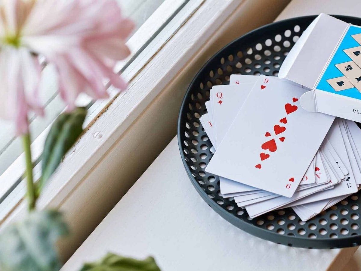 HAY After Dinner Playing Cards standard deck lets you get some family time