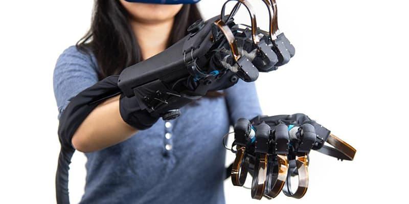 HaptX Gloves VR Simulation Wearable