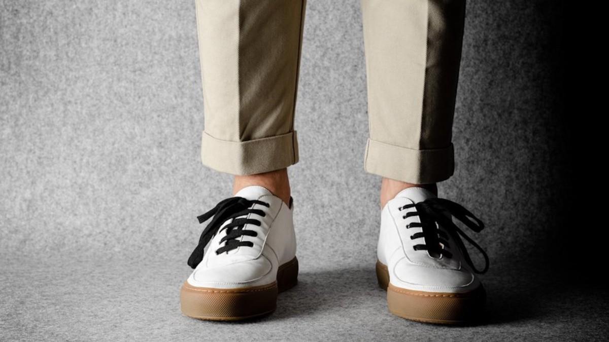 hardgraft Low Top Sneaker Casual Footwear has a waterproof rubber sole