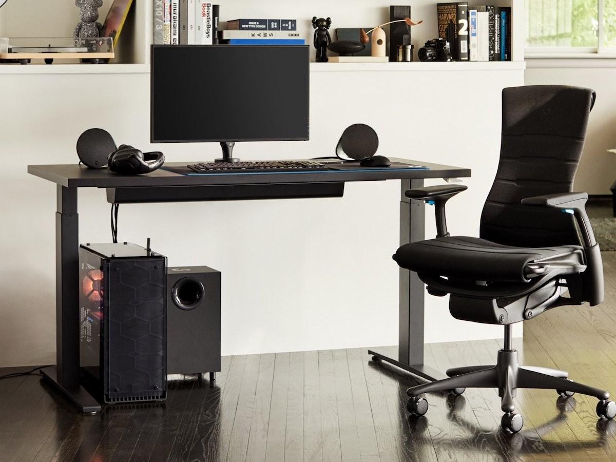 Herman Miller x Logitech G Embody Gaming Chair adjustable seat is ergonomically designed