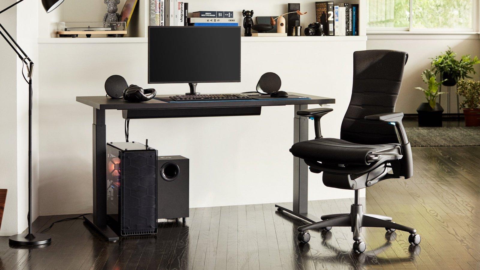 Herman Miller x Logitech G Embody Gaming Chair Adjustable Seat