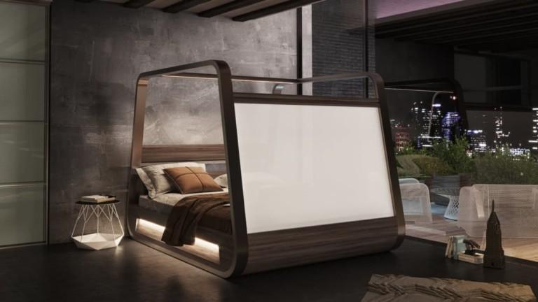 Hi-Interiors HiBed Canopy Smart Bed