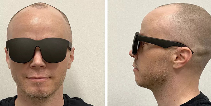 Facebook Proof-of-Concept Virtual Reality Headset
