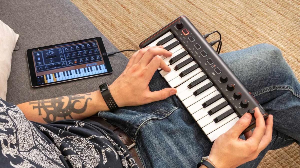 IK Multimedia iRig Keys 2 MIDI keyboard controller series lets you play anywhere