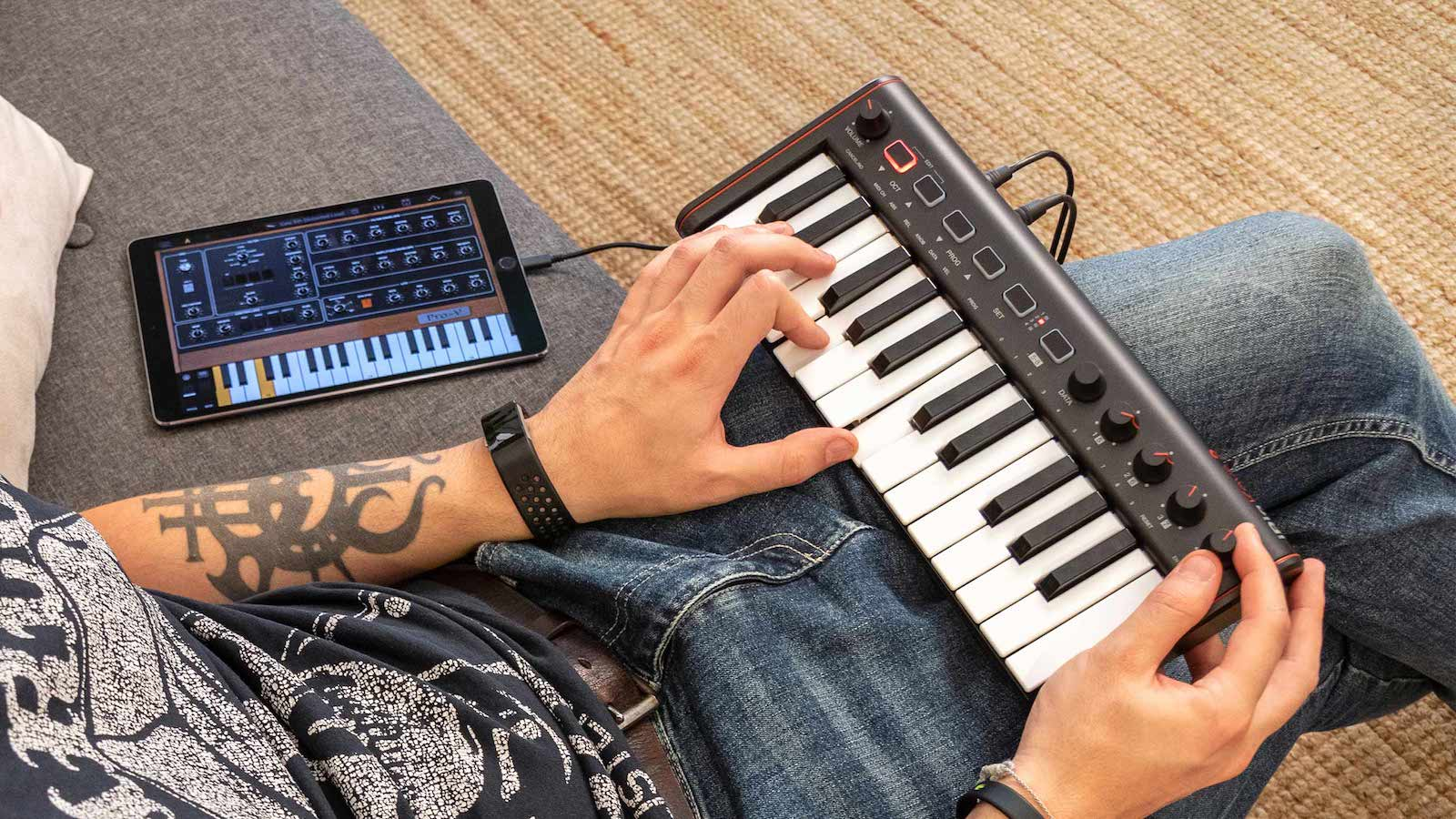IK Multimedia iRig Keys 2 MIDI Keyboard Controller Series