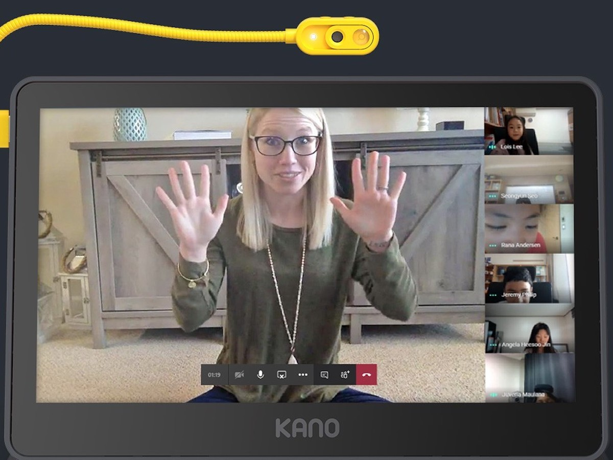 Kano Webcam Bendable Laptop Camera lets you undergo online lessons from any device